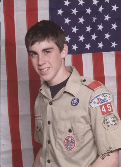 Frank Lentz, Eagle Scout