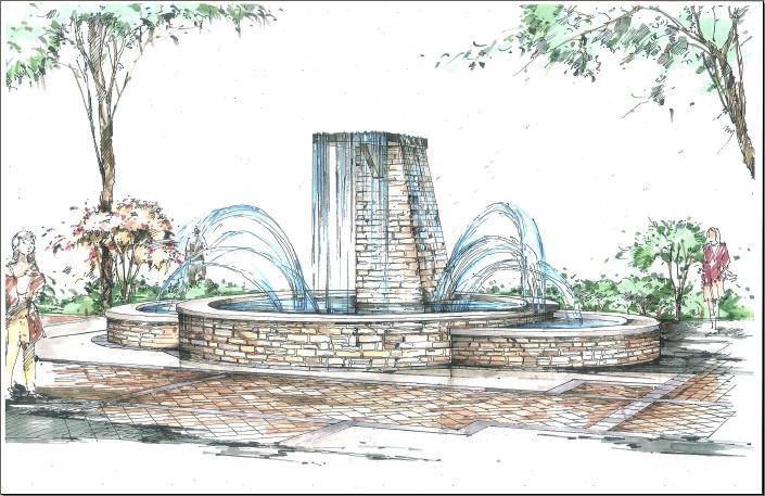 RiverGate Fountain