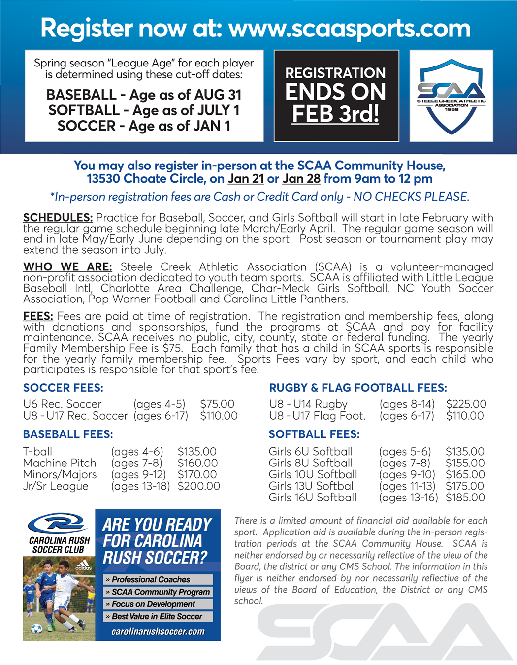 Steele Creek Athletic Association