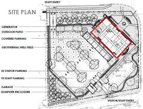 Steele Creek Police Station Site Plan