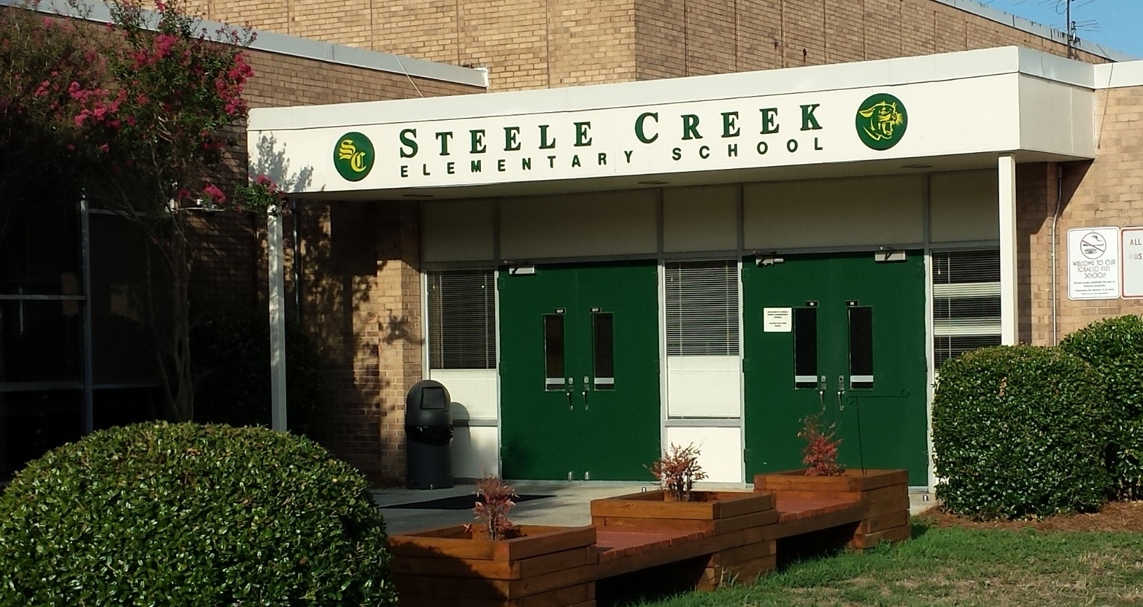 Steele Creek Elementary School 1968