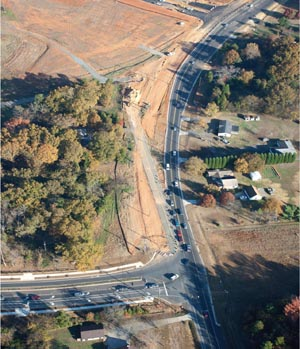 New Steele Creek Road at Shopton Road West