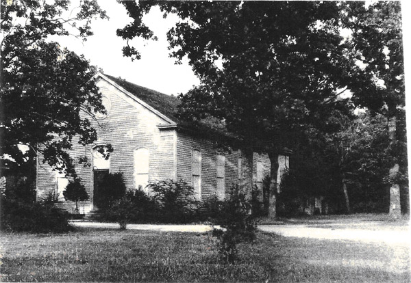 Central Steele Creek Presbyterian Church, built in 1883