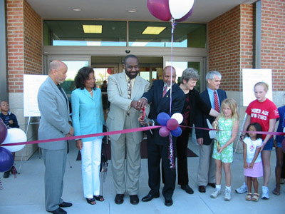 Steele Creek Library Ribbon Cutting Ceremony