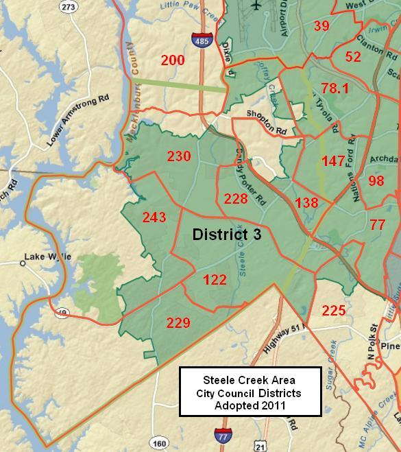 Charlotte City Council Districts