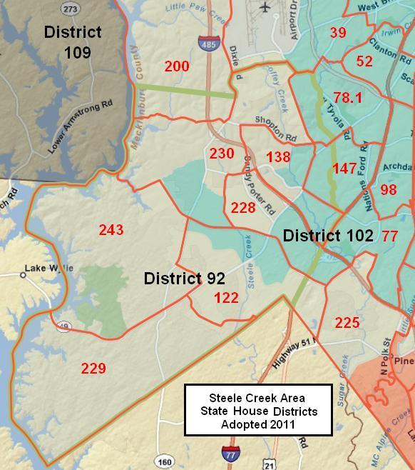 North Carolina House Districts
