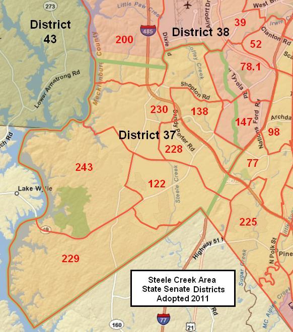 North Carolina Senate Districts