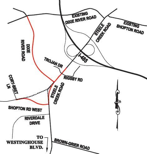 New Steele Creek Roads