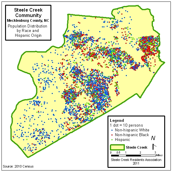 Steele Creek Population