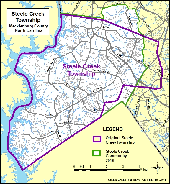 Steele Creek Township Map